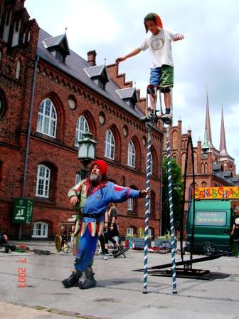 Cirkus ChangHigh - Elmerdahl.dk